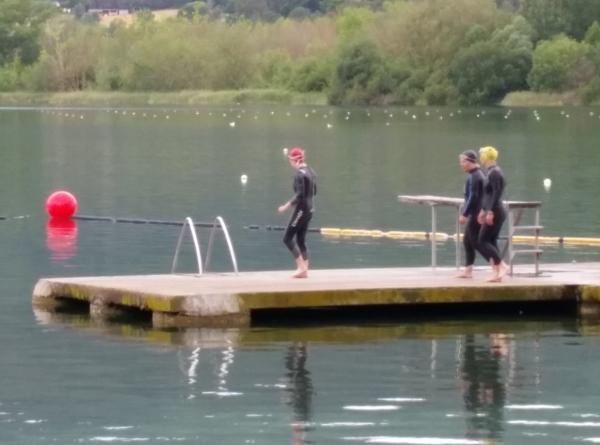 lake banyoles swim